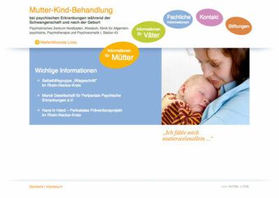Mutter-Kind-Behandlung am PZN, Wiesloch