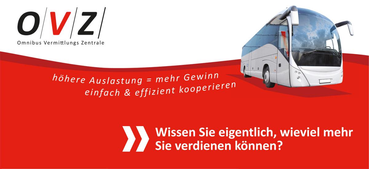 Omnibus Vermittlungs Zentrale (OVZ) neuer infarbe-Design Kunde