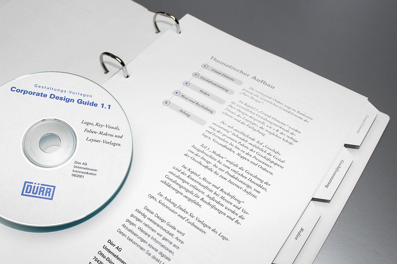 Corporate Design Manual, Dürr AG