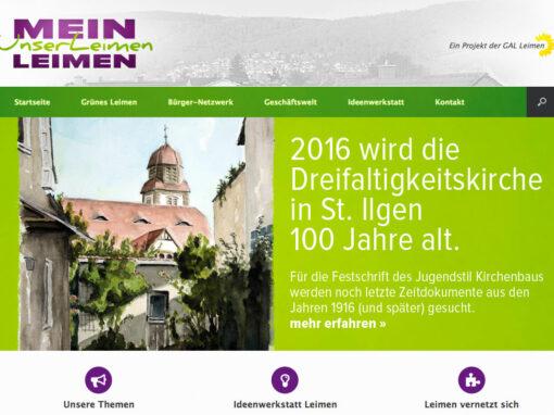 "Projekt ""Mein Leimen, unser Leimen"""