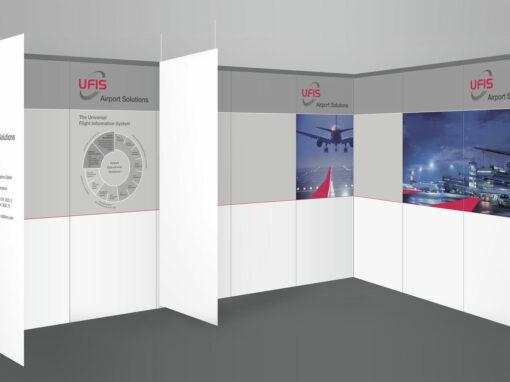 Messetafeln, UFIS Airport Solutions
