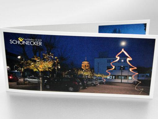 Weihnachtskarten Serie, Schönecker