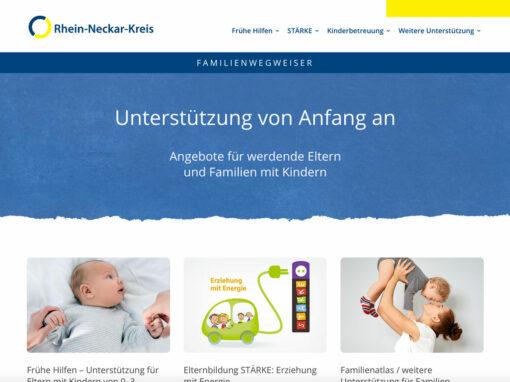 Familienwegweiser Rhein-Neckar-Kreis