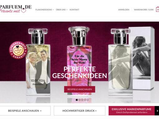 Parfum mit Herz, E-Commerce