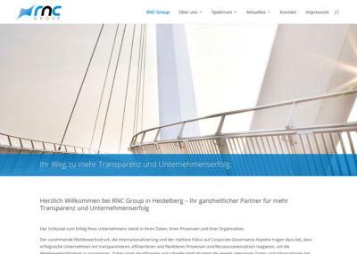 Website der RNC Group